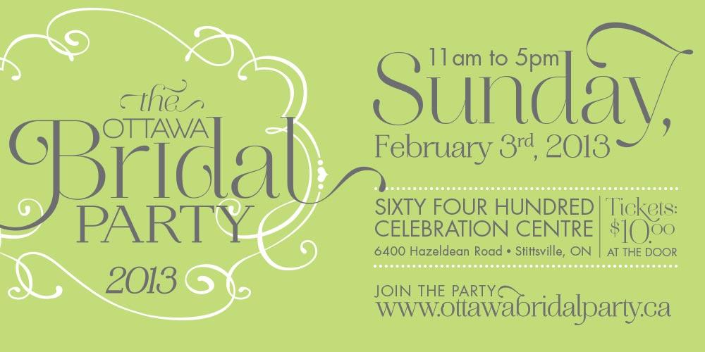 The Ottawa Bridal Party 2013